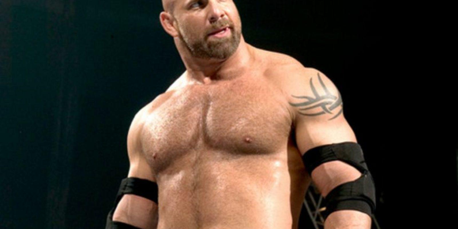 WWE Foto:Brock Lesnar reta a Goldberg