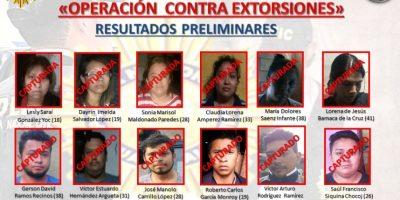 Capturan a pandilleros que extorsionaban a comerciantes y a transportistas