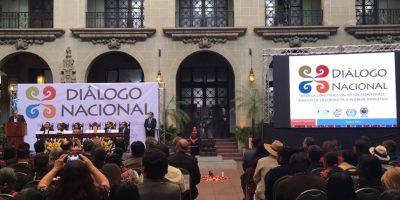 Gobierno lanza diálogo nacional para orientar los procesos de consulta a pueblos indígenas