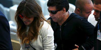 Getty Images Foto:Giannina Maradona le pidió a su hijo Benjamín que no juegue fútbol