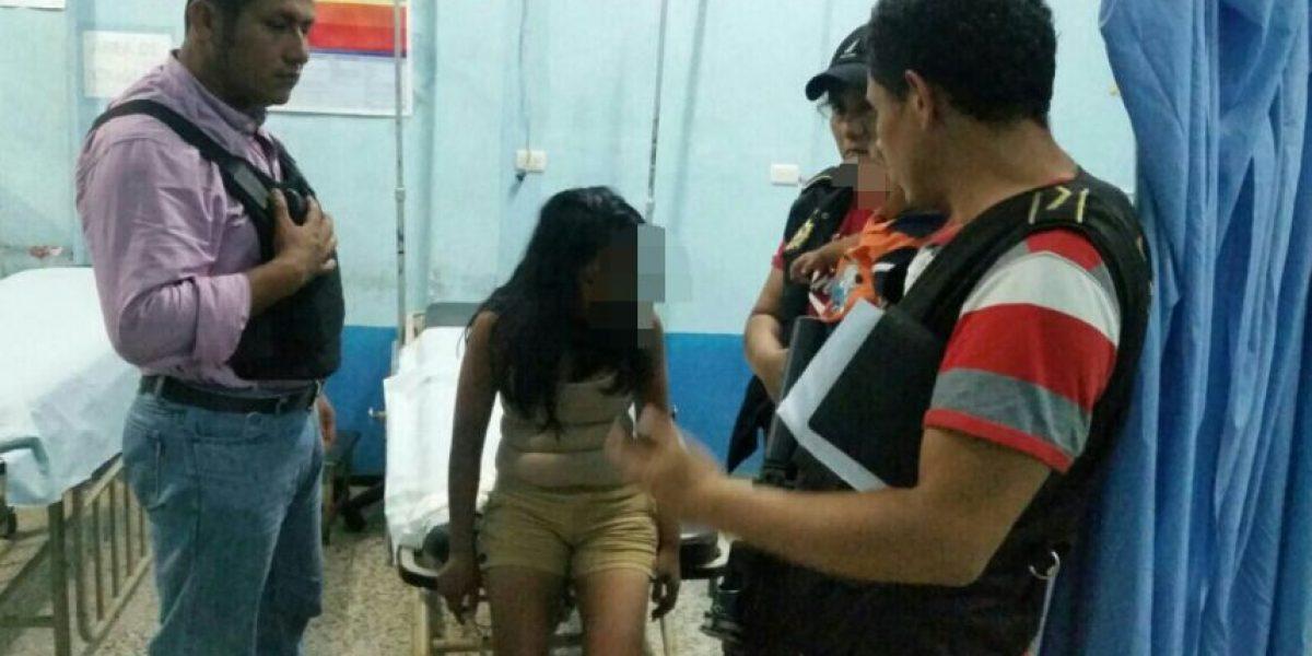 Liberan a madre y a su bebé quienes estaban secuestrados en El Estor, Izabal