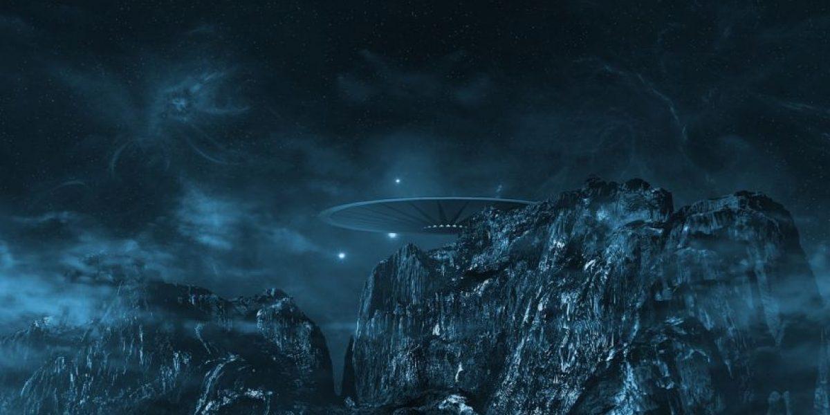 FOTO: Avistamiento de ovni podría revelar la existencia de bases alienígenas en la Tierra