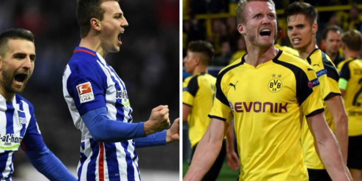 Borussia Dortmund vs Hertha Berlín, duelo por el segundo lugar de la Bundesliga
