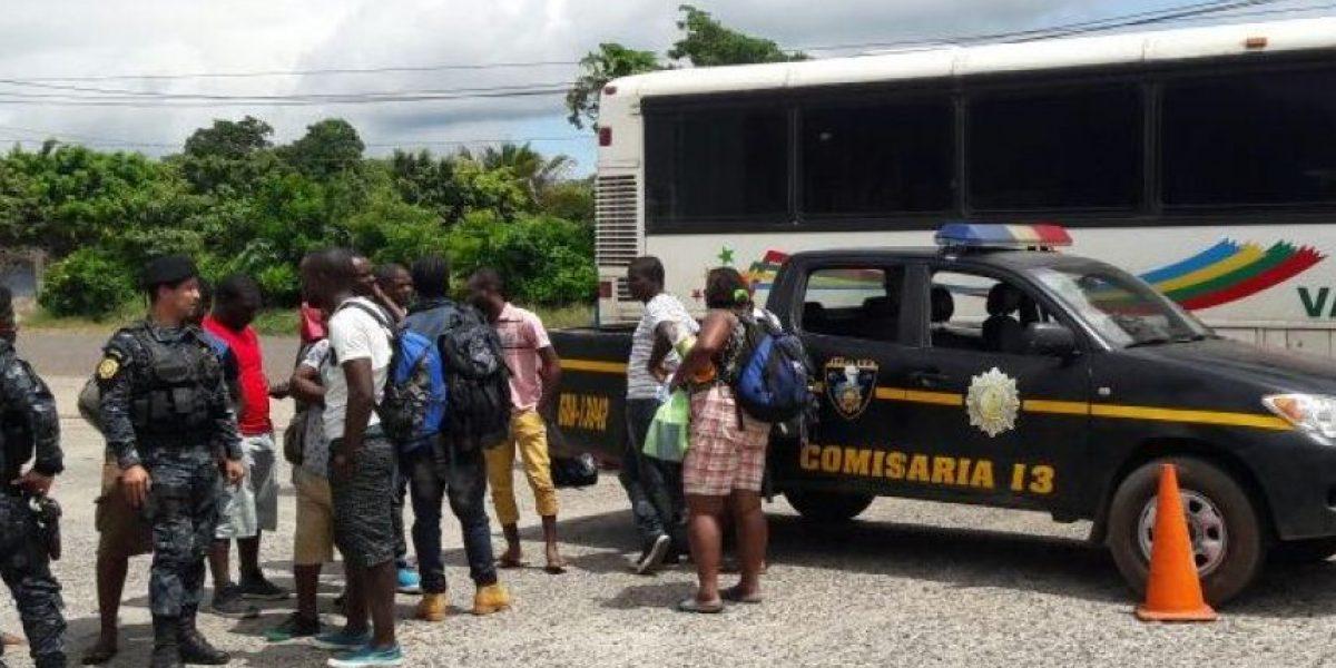 Localizan a 16 congoleños que viajaban sin permiso migratorio