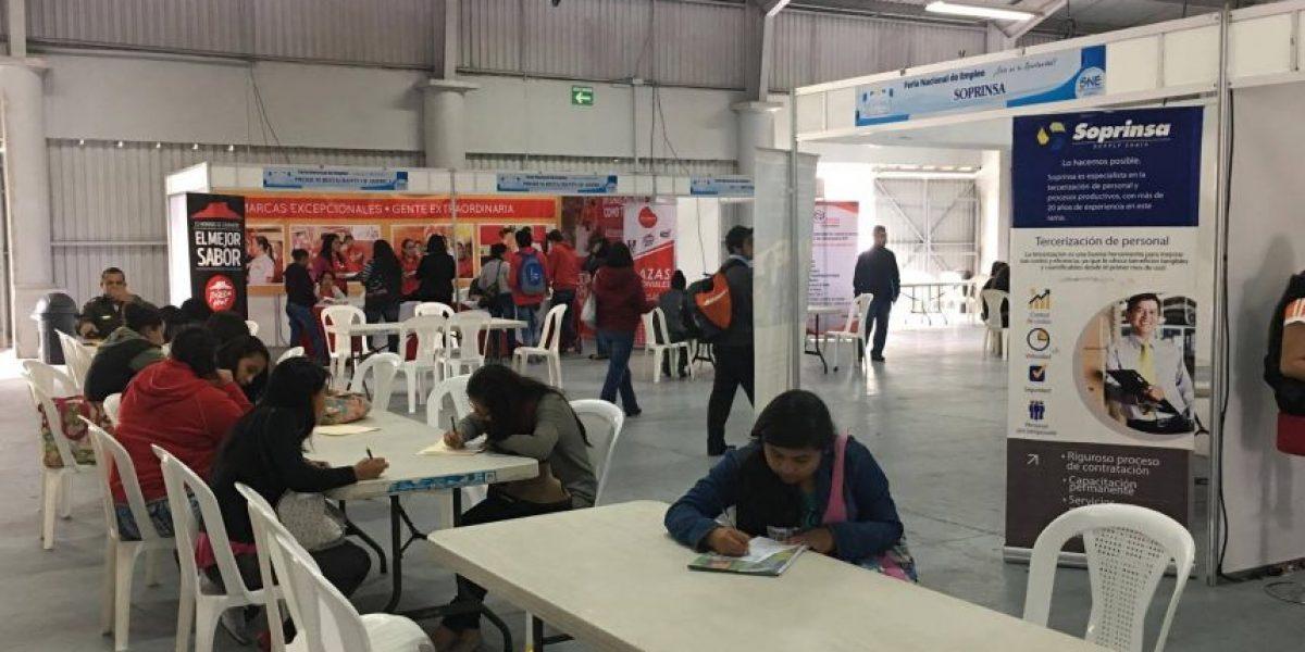 Ofrecen 18 mil puestos de trabajo en Feria Nacional de Empleo