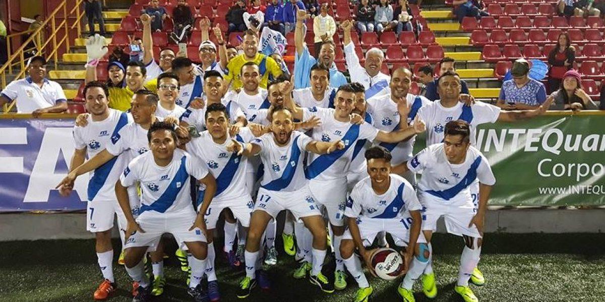 Guatemala debuta con triunfo en la Copa América IFA7 en Costa Rica