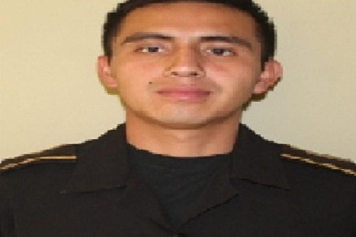 El policía Mario Ebenigno Coc Cahuec. Foto:Cortesía