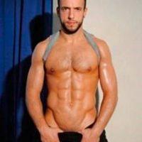 Foto:Jonathan de Falco. Exfutbolista belga que cambió el fútbol por el cine porno gay