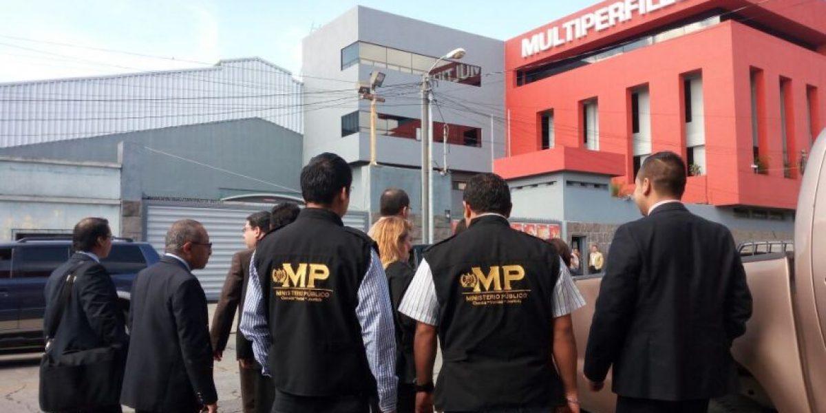 Finaliza la persecución penal a empresa Multiperfiles que defraudó al fisco por Q62.9 millones
