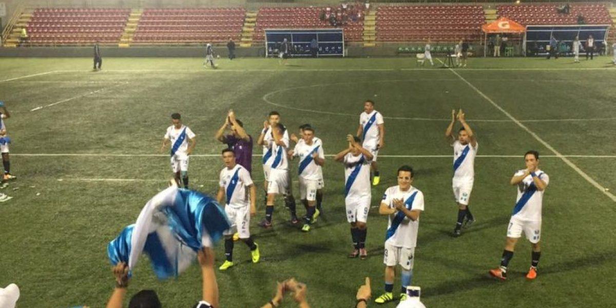 Guatemala consigue su segundo triunfo en la Copa América IFA7 ante Ecuador