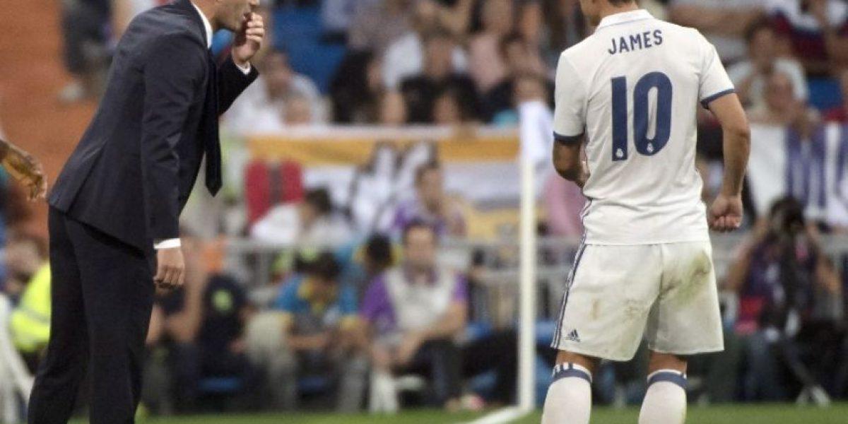 James Rodríguez mejora pero no jugará con el Real Madrid el sábado ante el Betis