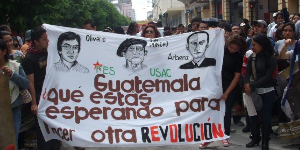 La marcha conmemorativa por la Revolución de 1944 se centrará en contra de la corrupción en Guatemala