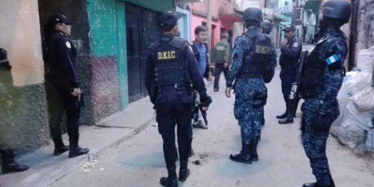 Pandilleros del Barrio 18 son capturados en operativo contra las extorsiones