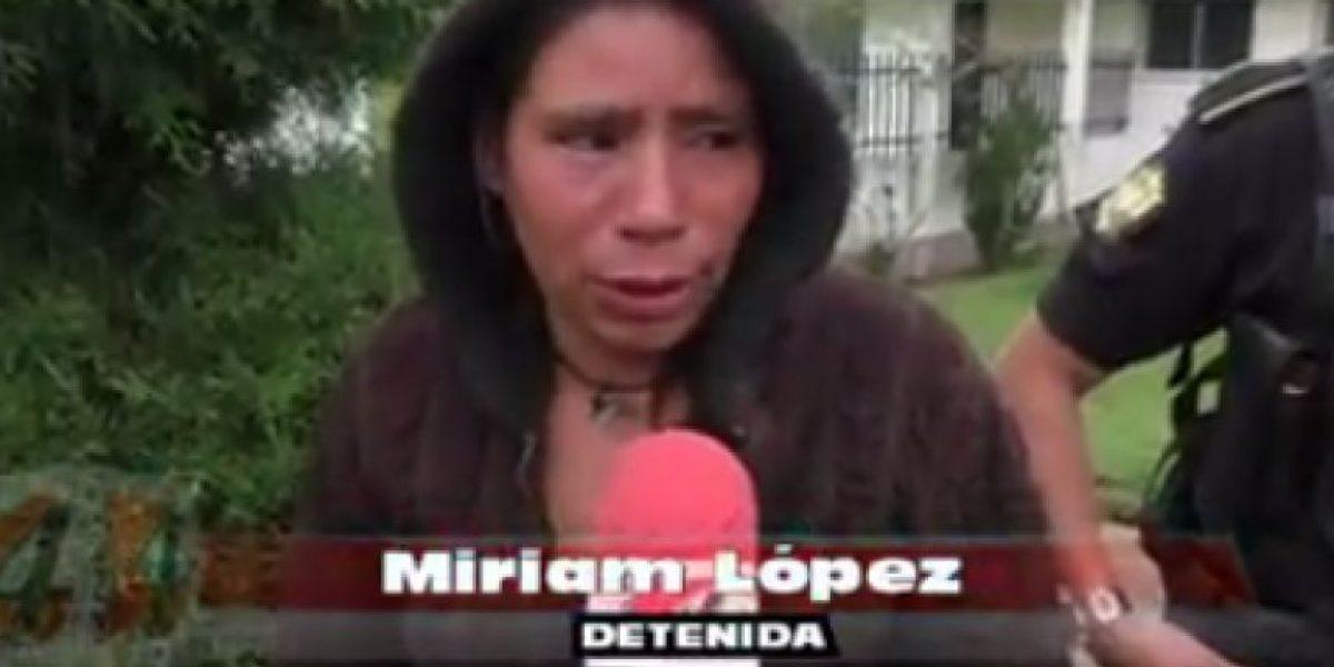 VIDEO. Detenida en Quiché por supuesto asesinato dice ser inocente, pero conoce a los autores del crimen