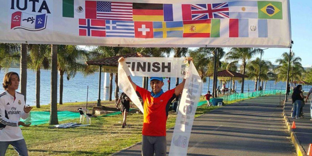 EN IMÁGENES: Así se convirtió un guatemalteco en campeón y dueño del récord mundial