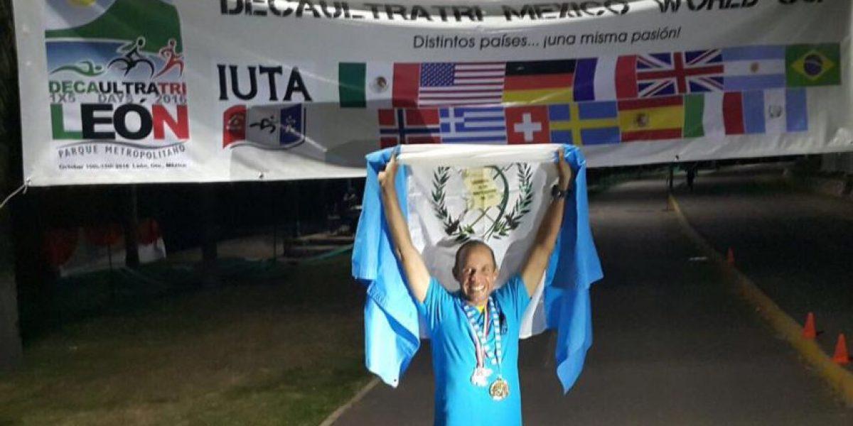 Juan Carlos Sagastume logra lo imposible y logra un nuevo récord mundial para Guatemala