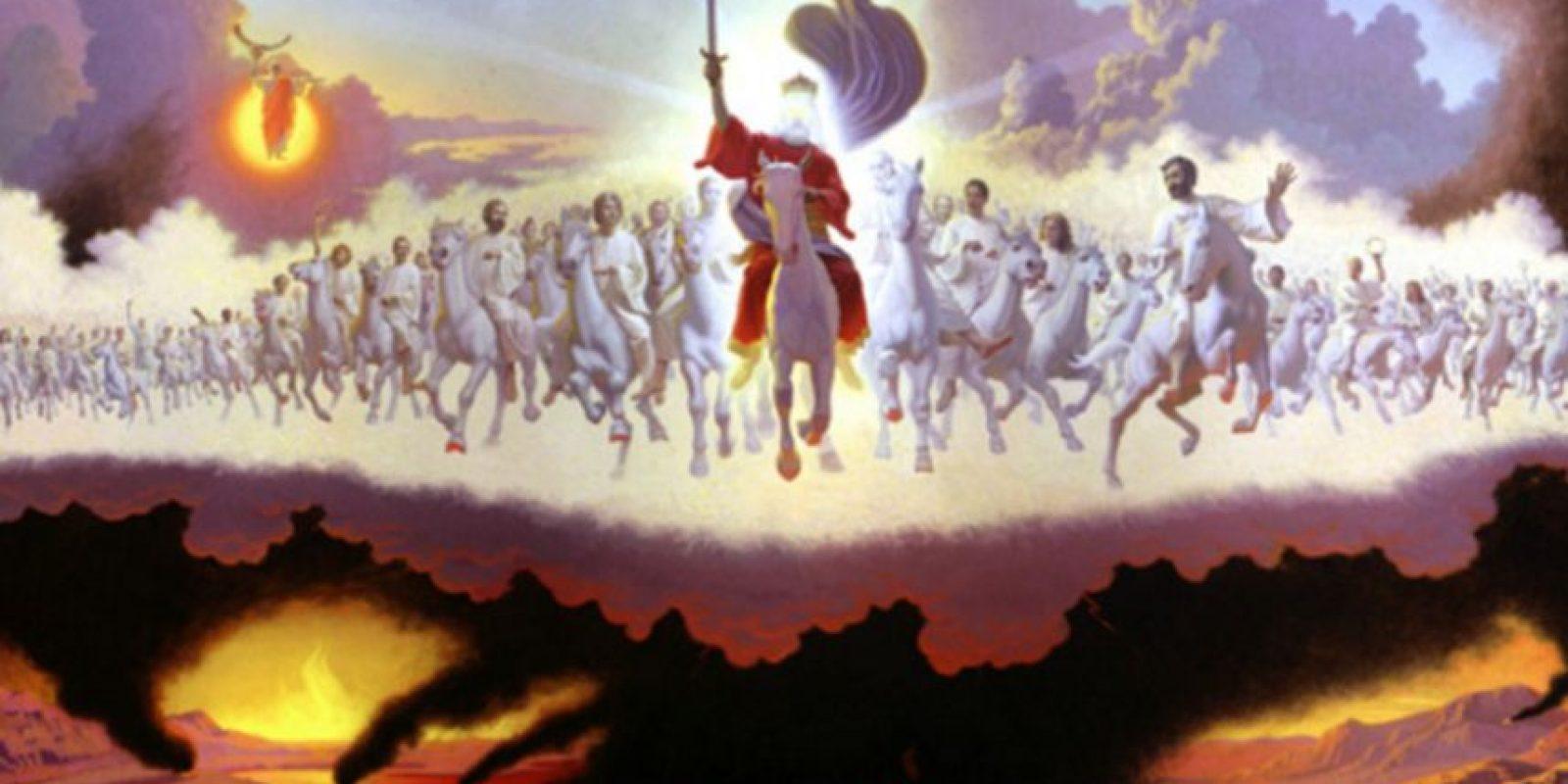 En Apocalipsis se habla del retorno de Jesús luego de la devastación.