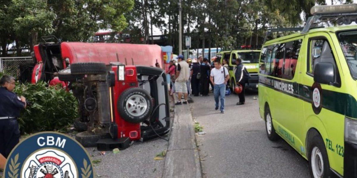 Accidente de bus en bulevar Liberación deja más ocho heridos