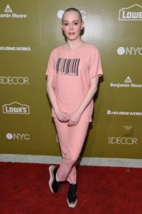 Getty Images Foto: Rose McGowan, ahora