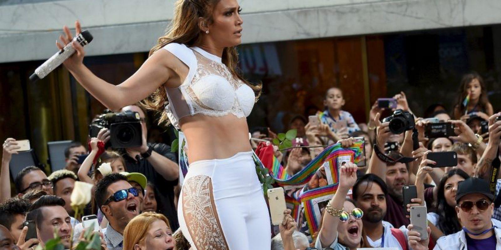 Getty Images Foto:Pensó que nadie la veía pero fue captada en video
