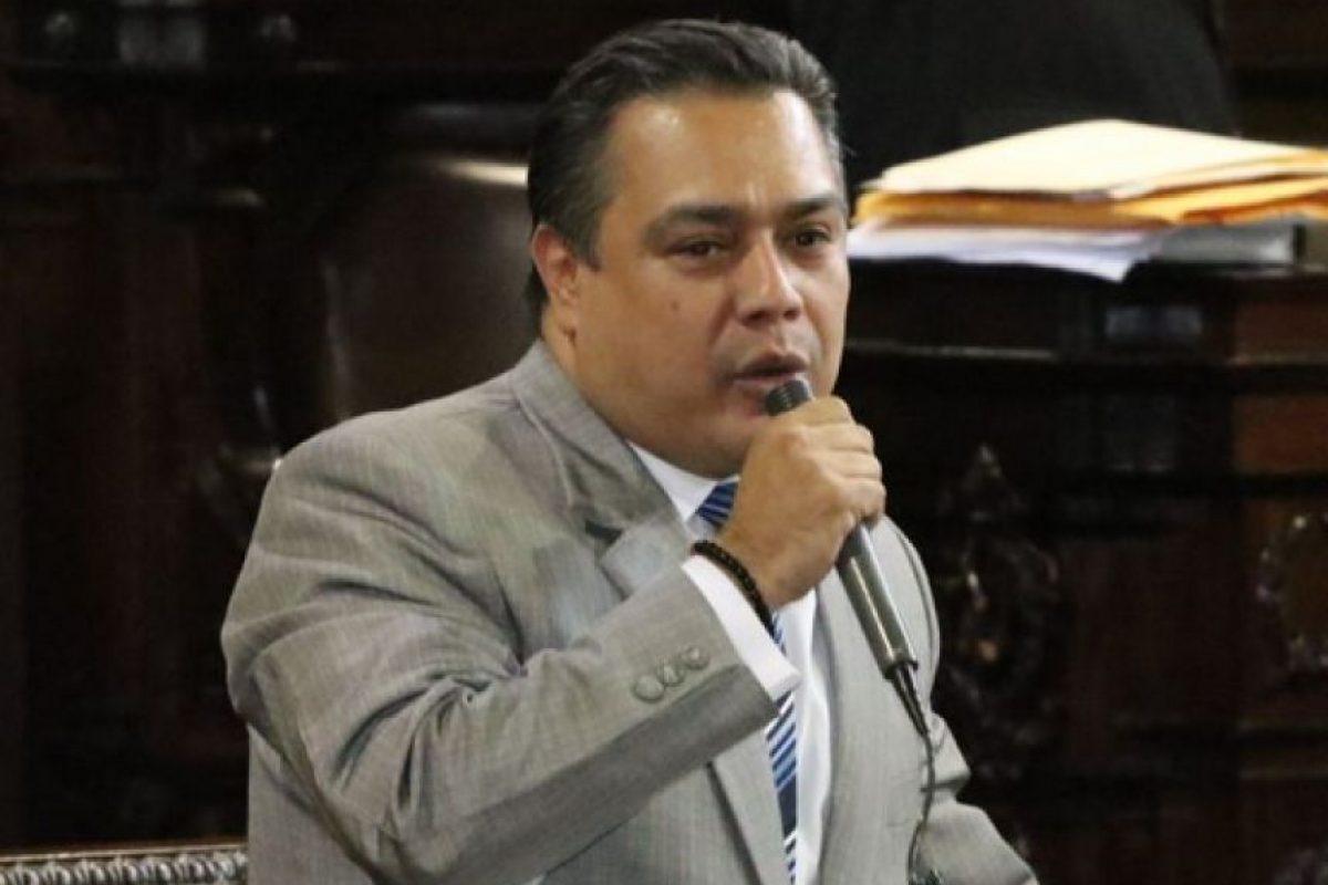 Javier Hernández, jefe de bancada FCN-Nación Foto:Congreso