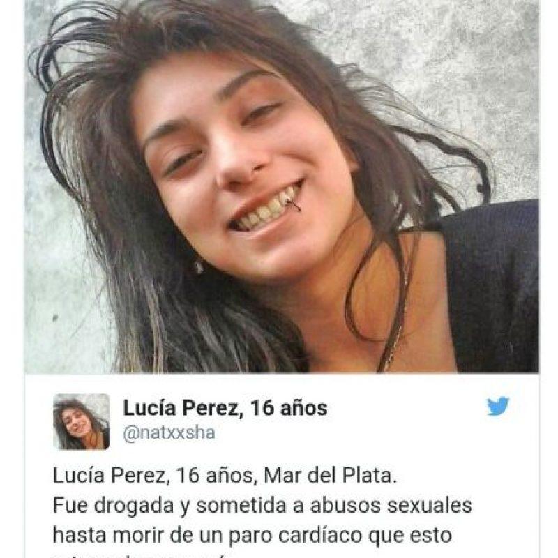Twitter.com Foto:Fue violada y empalada hasta la muerte