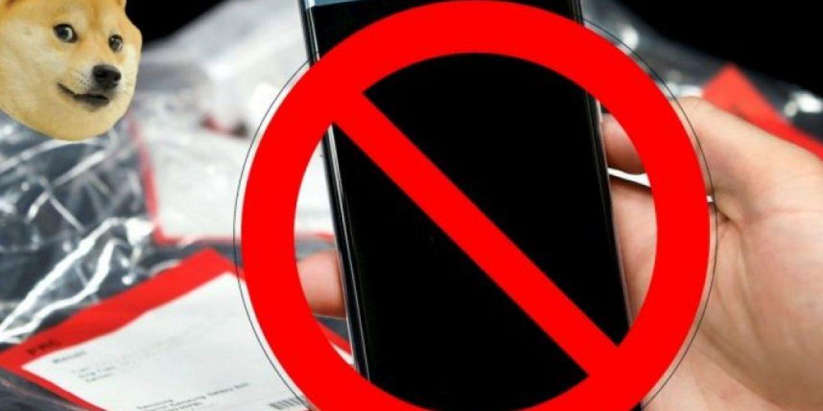 Ahora es un delito viajar en avión con el Galaxy Note 7