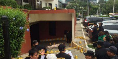 Investigan muerte de ciudadano surcoreano que cayó de edificio en zona 15