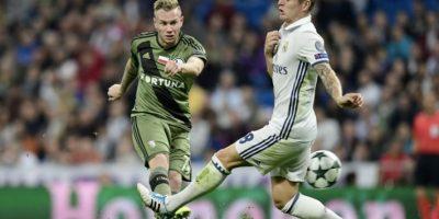 El Madrid suma 7 puntos después de dos victorias y un empate en el grupo F de la Liga de Campeones. Foto:AFP