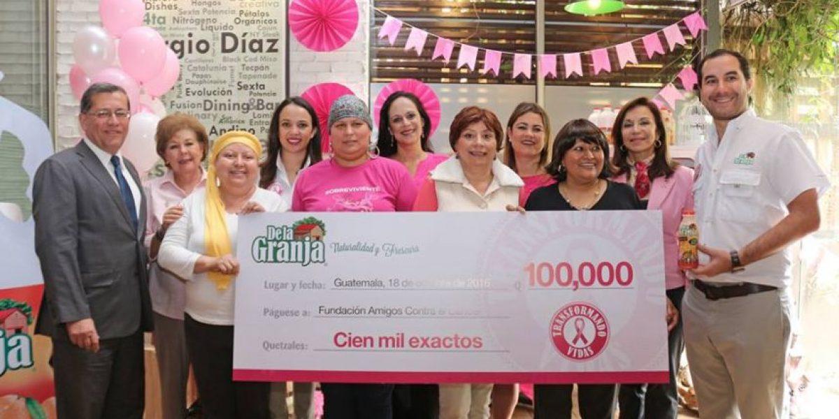 De la Granja transforma la vida de mujeres guatemaltecas con cáncer de mama
