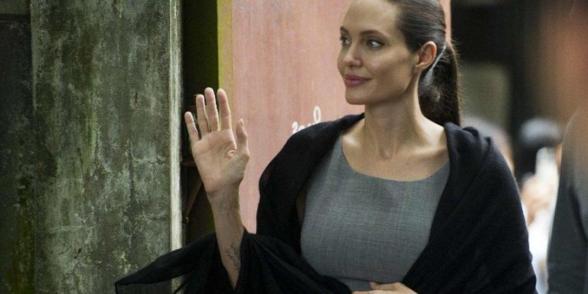 Revelan las primeras imágenes de Angelina Jolie tras su divorcio