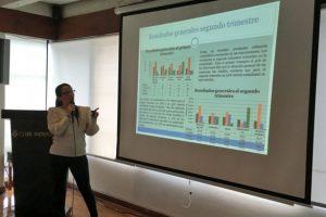 Claudia Galán, de la unidad económica Foto:Cacif