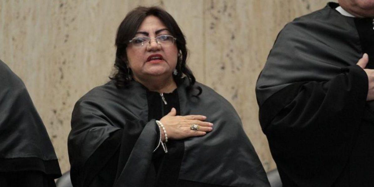 Magistrada de la Corte Suprema de Justicia Delia Dávila acude al Ministerio Público por señalamiento