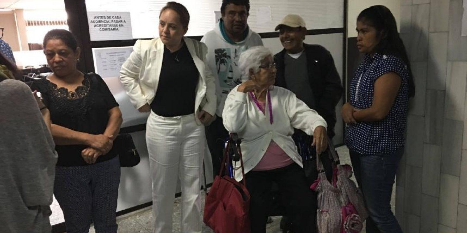 Los afectados. Foto:Kenneth Monzón