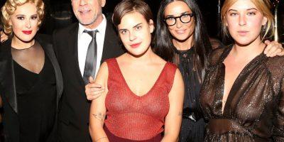 ¡Sin censura! Las fotos de la hija de Bruce Willis y Demi Moore sin ropa y tocándose