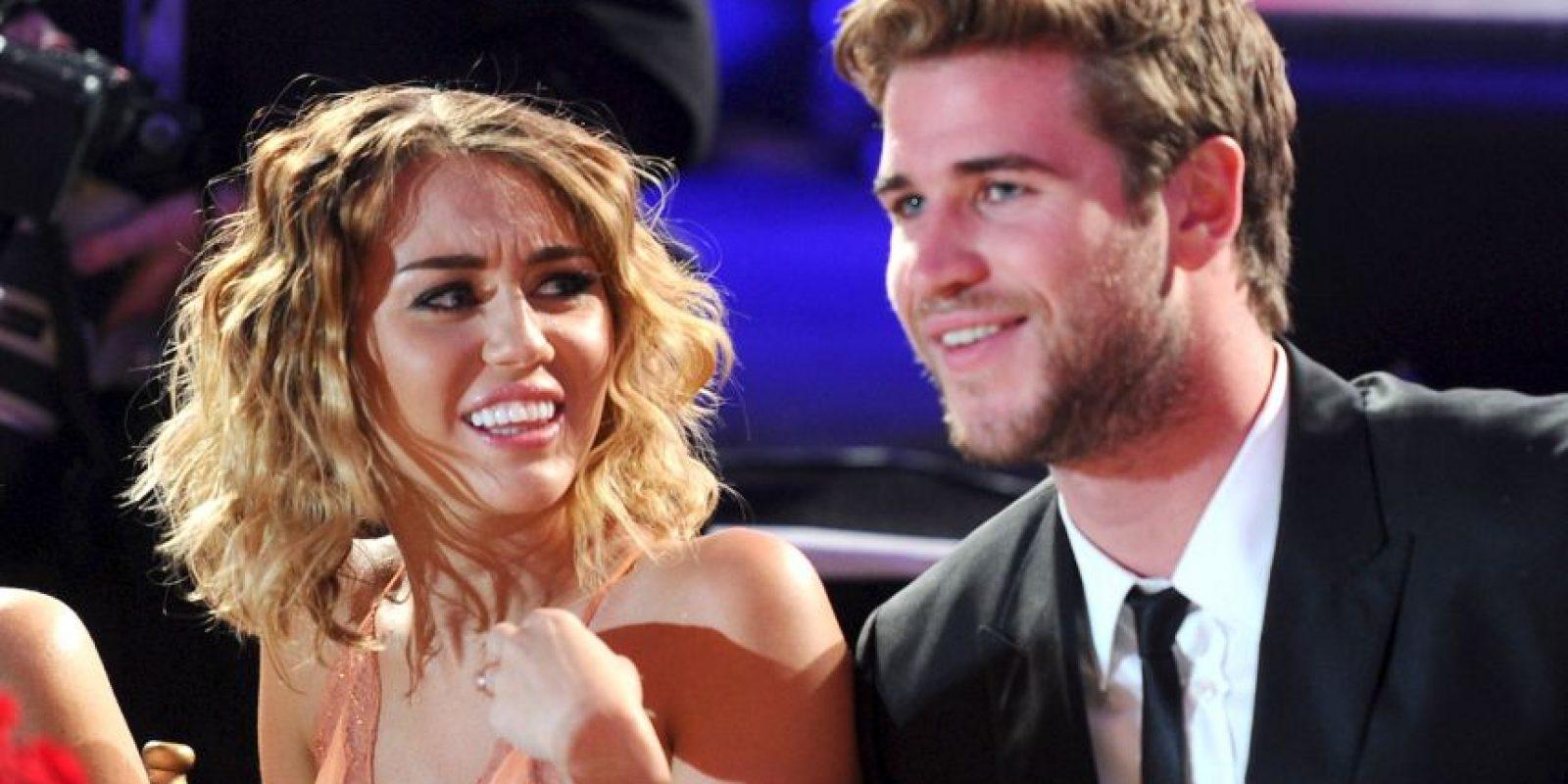 Getty Images Foto:Liam Hemsworth y Miley Cyrus