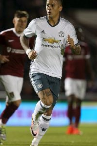 Foto:Marcos Rojo (Manchester United)