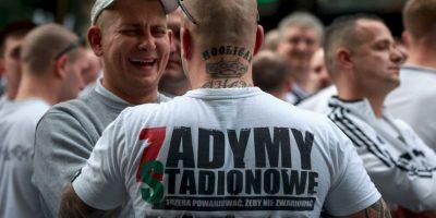 Getty Images Foto:Los fanáticos del Legia Varsovia son una de las hinchadas más peligrosas de Europa