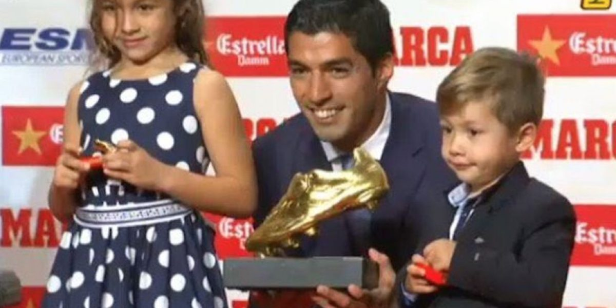 Luis Suárez fue elegido como el mejor de todas las ligas europeas