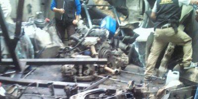 MP en busca de vehículos robados en zona 5