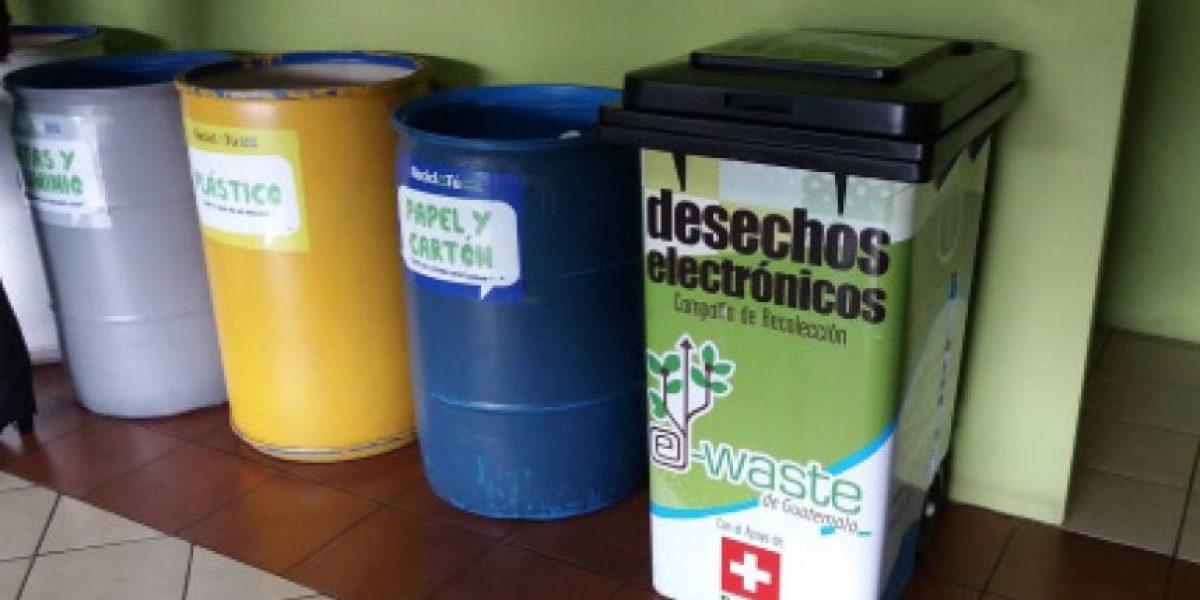 Municipalidad de Guatemala recibe desechos electrónicos