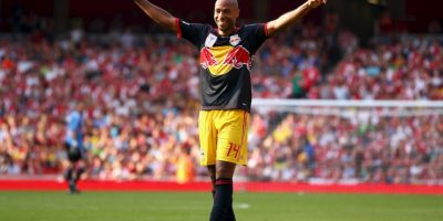 Getty Images Foto:Thierry Henry en su retorno al Emirates Stadium
