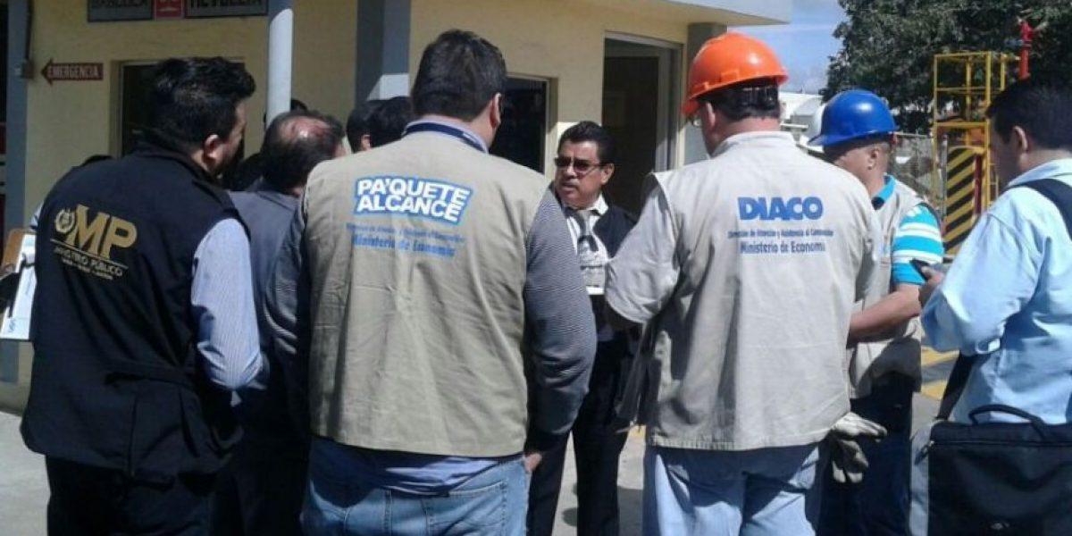 MP, SAT y Diaco realizan inspección de peso correcto en envasadora de gas propano