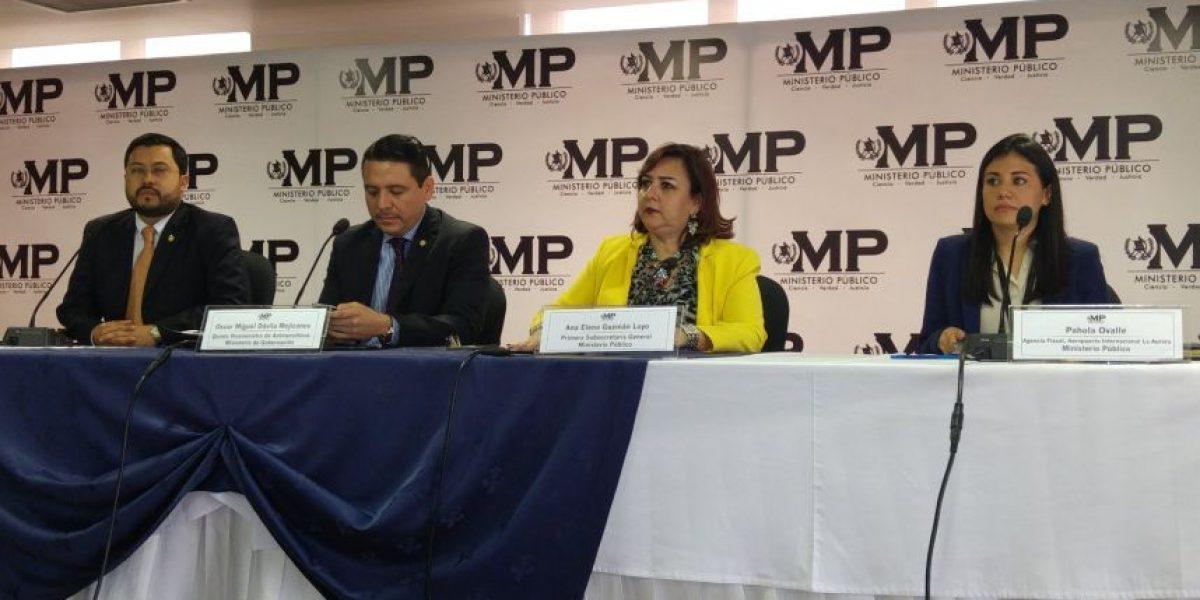 Durante allanamiento, MP inmoviliza 21 aeronaves en aeropuerto La Aurora