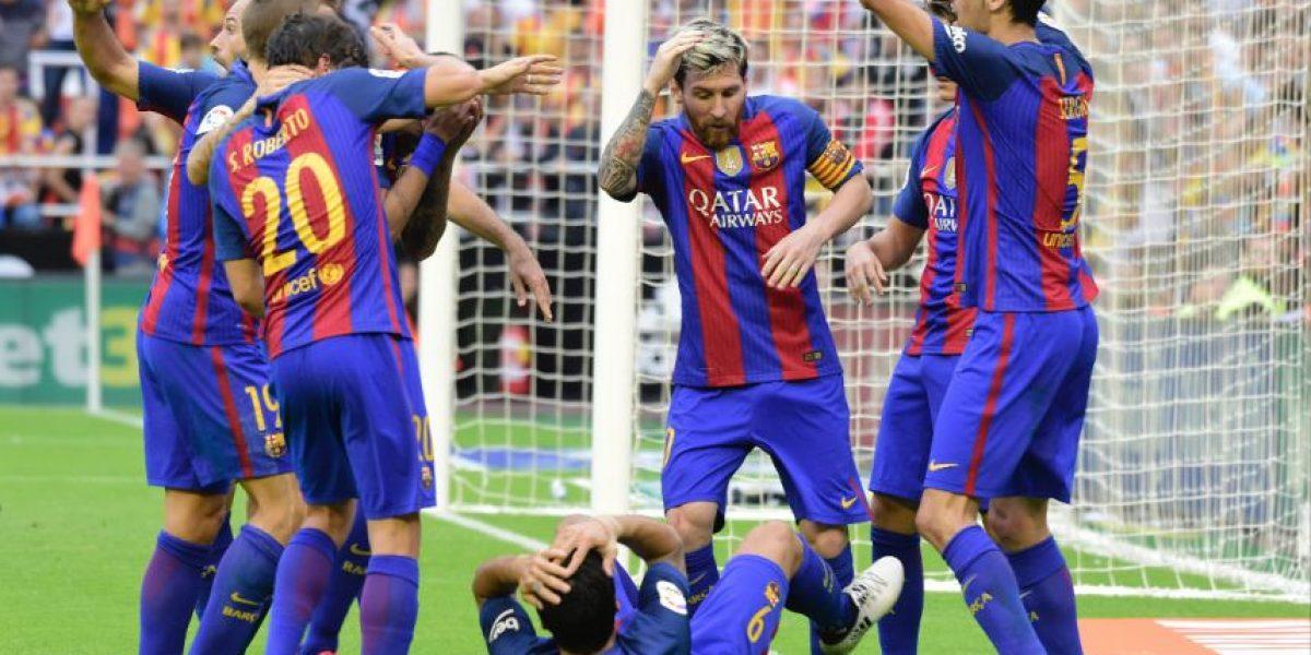En imágenes. El efusivo festejo de Lionel Messi que enloqueció a la afición