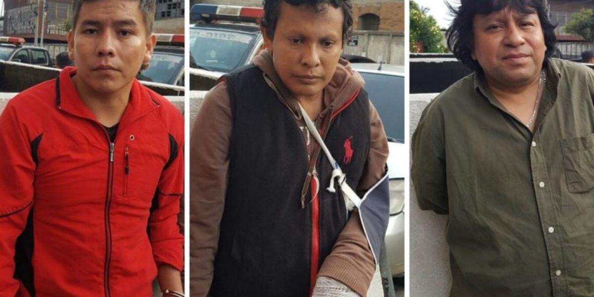 Capturadas tres personas que iban a ingresar a vivienda en ruta a El Salvador para robar