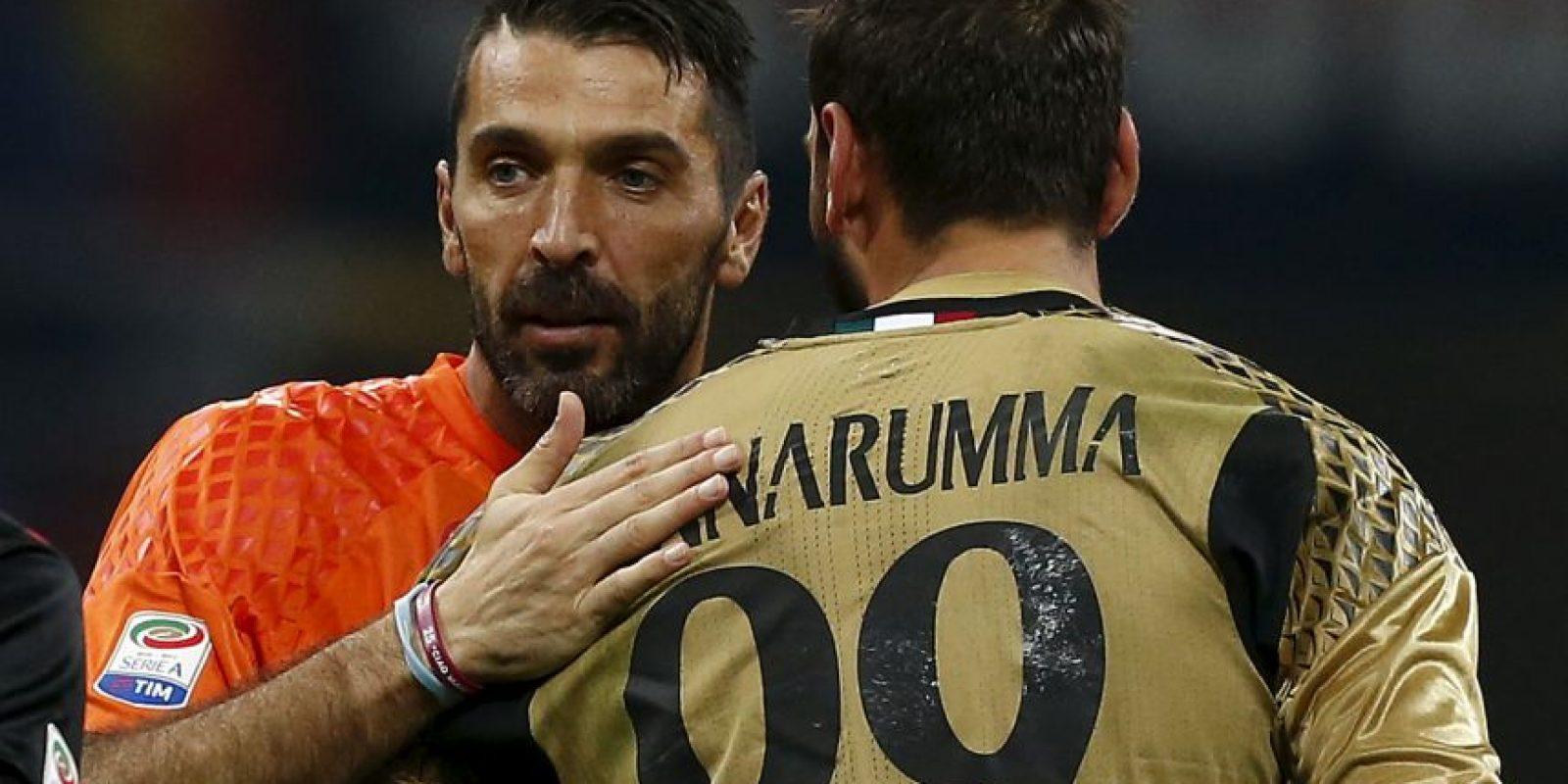 AFP Foto:Casos en Europa: Gianluigi Buffon (38 años-Juventus)