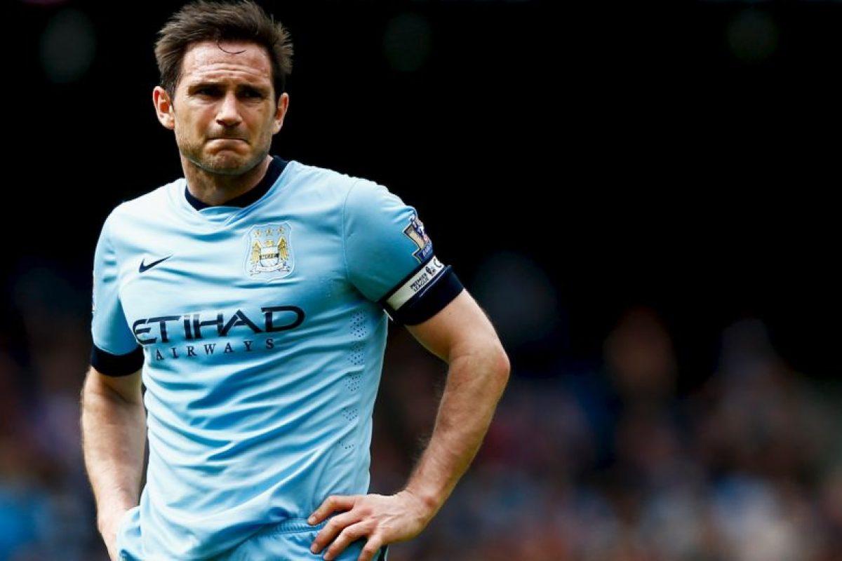 Getty Images Foto:Frank Lampard. Con el Chelsea tuvo un tope de 45 millones de euros en 2009. A partir de entonces comenzó su pique hasta ahora que vale un millón.