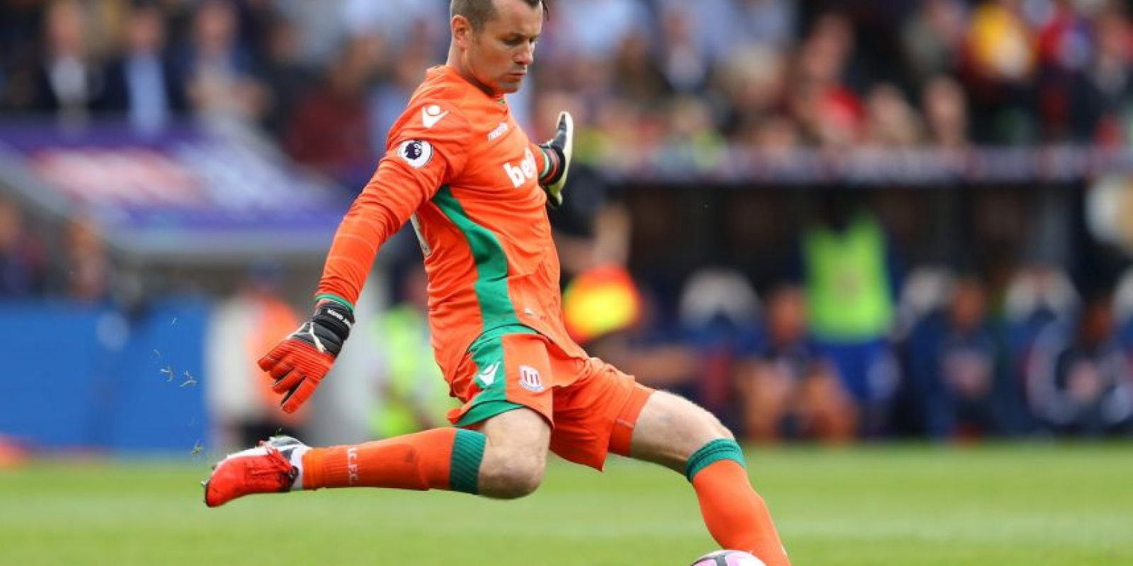 Foto: Shay Given (40 años-Stoke City)