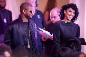"""Getty Images Foto:Entre los invitados estuvo Usher, quien grabó al presidente bailando """"Hotline Bling"""""""